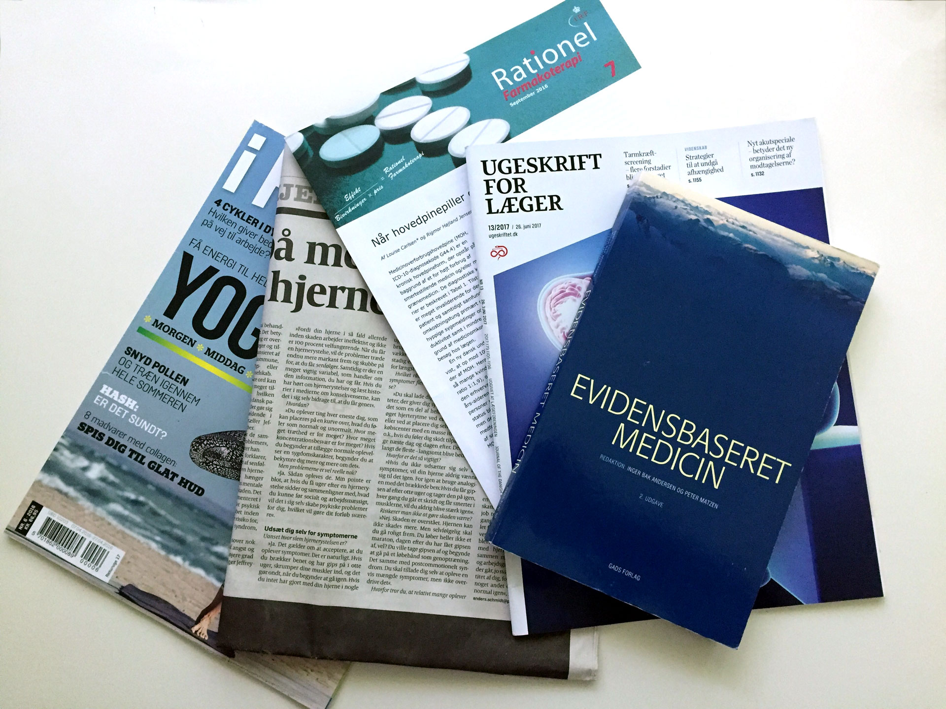 hjernerystelse - commotio - forskning - litteratur